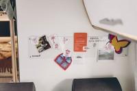 Magnetwand & Whiteboard 130 x 610 mm